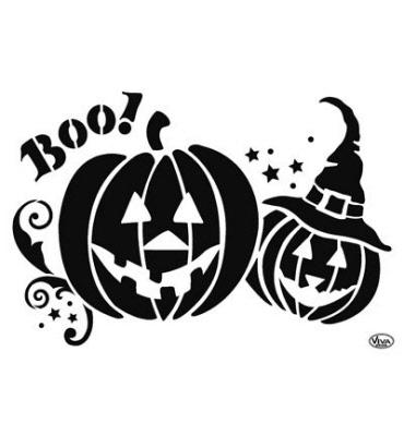 Pompoen Halloween Sjabloon.Haloween Sjablonen